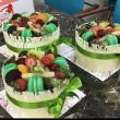 Macaronlu Meyveli Pasta